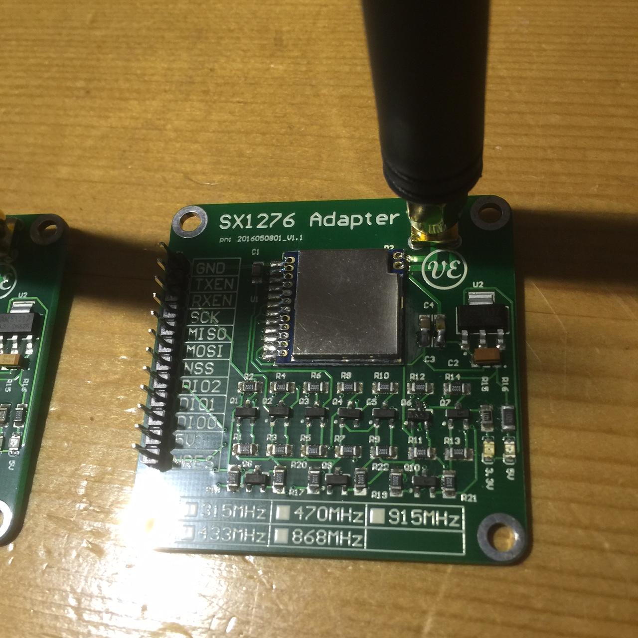 Lora SX1276 Adapter print V1.1B