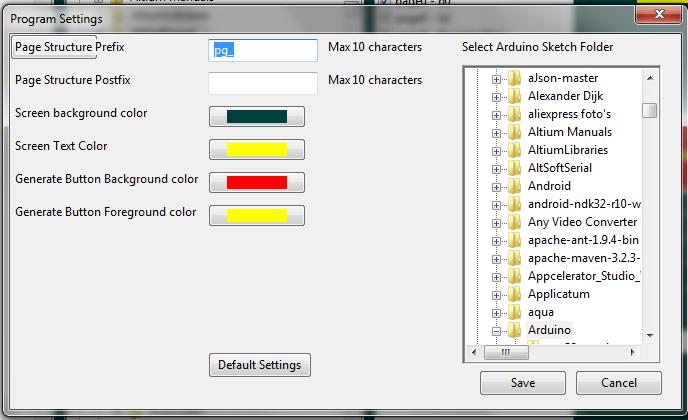 Code Generator for Nextion Screens | Nico Verduin's website